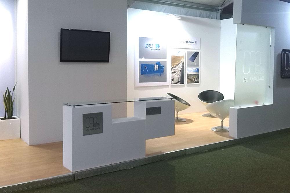 طراحی غرفه نمایشگاهی کنترل فرآیند پویا
