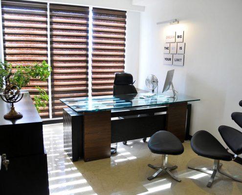 طراحی داخلی اداری کنترل فرآیند پویا