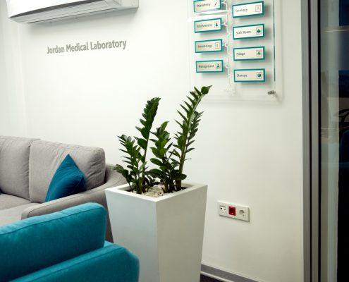 طراحی داخلی آزمایشگاه جردن