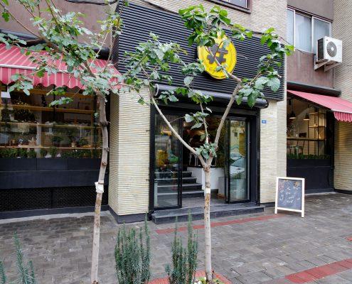 طراحی داخلی تجاری کافه مارکت