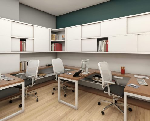 طراحی داخلی اداری بازرگانی زرتشت