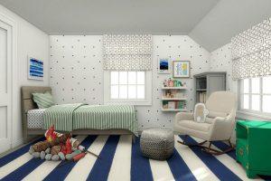 الهام گرفتن برای طراحی داخلی اتاق کودک